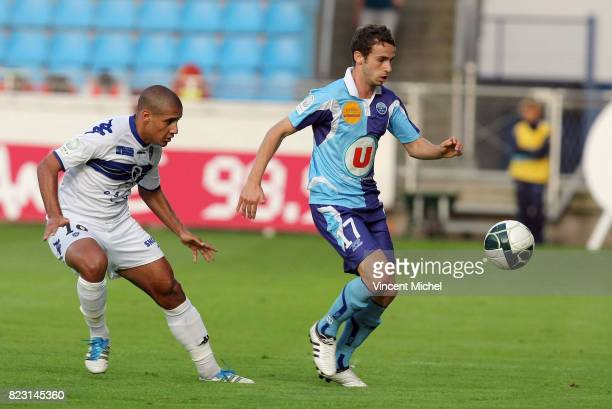 Wahbi KHAZRI / Walid MESLOUB Le Havre / Bastia 4e journee de Ligue 2 Vincent Michel / Icon Sport