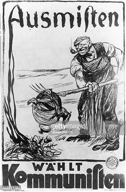 'Ausmisten Wählt Kommunisten' 1924
