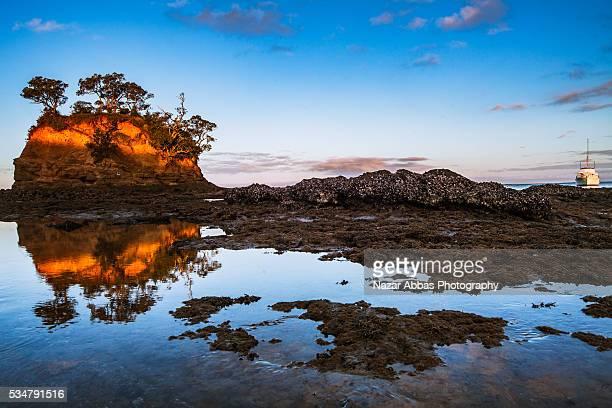 Waiake Bay sunset