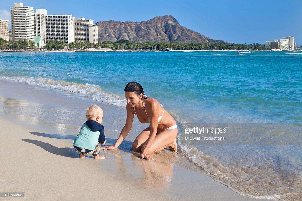 Waikiki fun day : Stock Photo