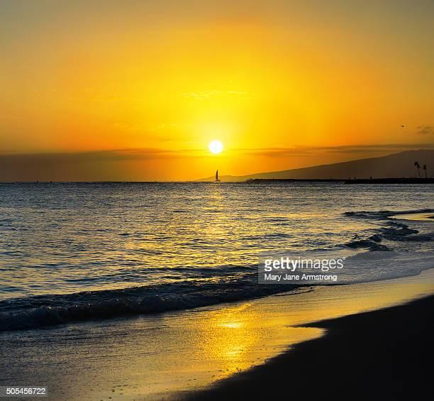 Waikikian Sunset