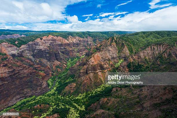 Waimea Canyon Aerial Photography