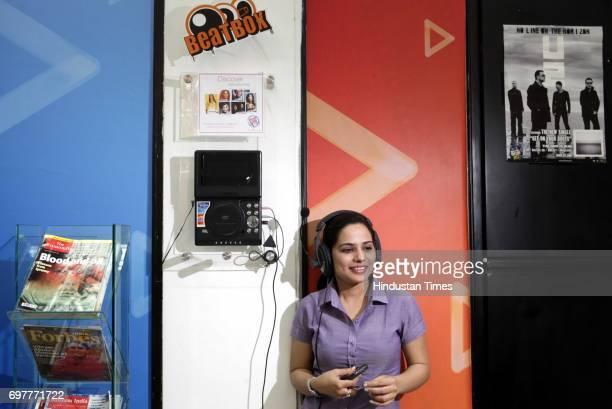 Waiting area of Hungama Digital Media Entertainment in Mumbai