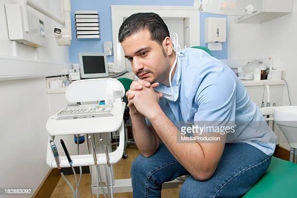 Waiting dentist