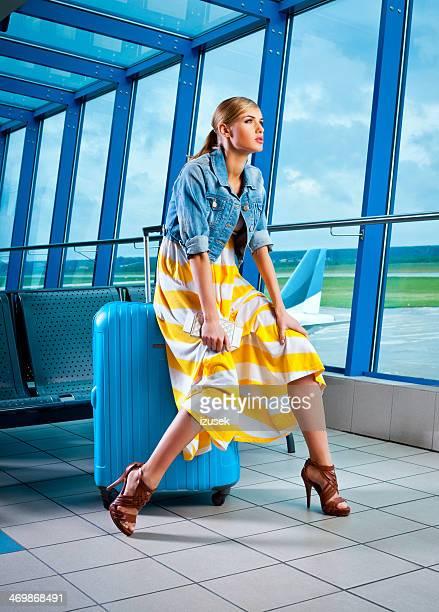 En attente d'un vol