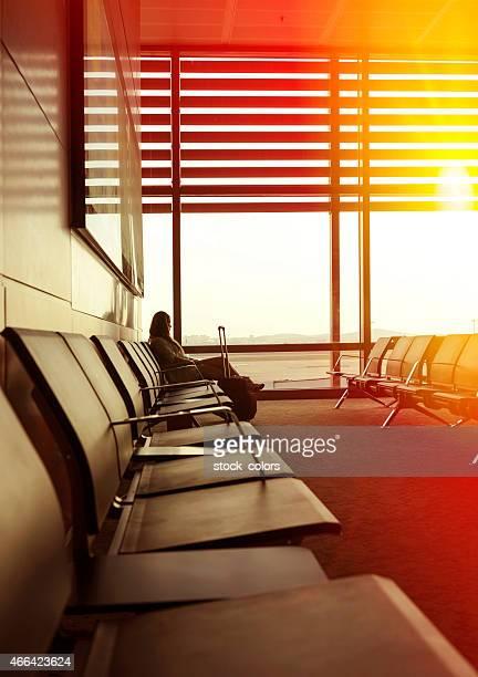 Wartezeit für meinen Flug