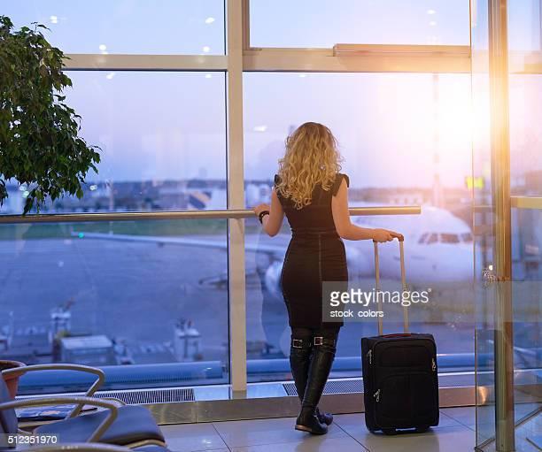 Attente pour mon avion