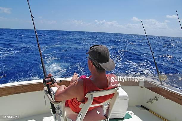 Warten auf Fisch