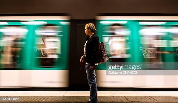 Waiting Subway