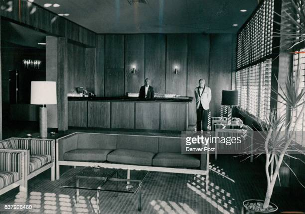 Waiting to show off Rem Odeled barreading room Waiters George Dean left and Archie McKinney stand in the newly remodeled bar and reading room of the...