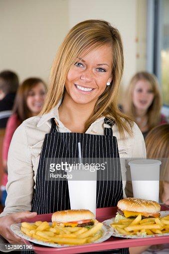 Waitress in a Restaurant