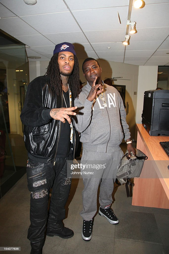 <a gi-track='captionPersonalityLinkClicked' href=/galleries/search?phrase=Waka+Flocka+Flame&family=editorial&specificpeople=6915851 ng-click='$event.stopPropagation()'>Waka Flocka Flame</a> and <a gi-track='captionPersonalityLinkClicked' href=/galleries/search?phrase=Gucci+Mane&family=editorial&specificpeople=4468934 ng-click='$event.stopPropagation()'>Gucci Mane</a> invade 'The Whoolywood Shuffle' at SiriusXM Studios on October 8, 2012 in New York City.