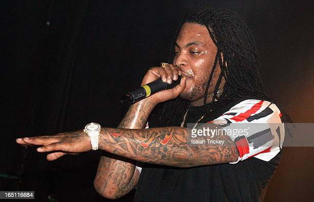 Waka Flocka Flame performs at Phoenix Concert Theatre on March 30 2013 in Toronto Canada