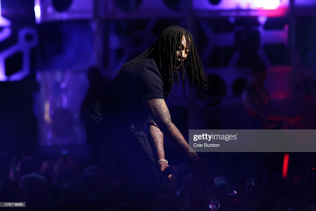 Waka Flocka Flame performs at the 2015 Much Music Video Awards at MuchMusic on Queen Street West in Toronto June 21 2015