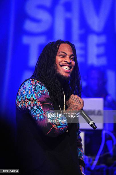 Waka Flocka Flame performs at VH1 Save The Music Foundation's Songwriters Music Series Remix featuring Swizz Beatz Friends presented by Monster DNA...