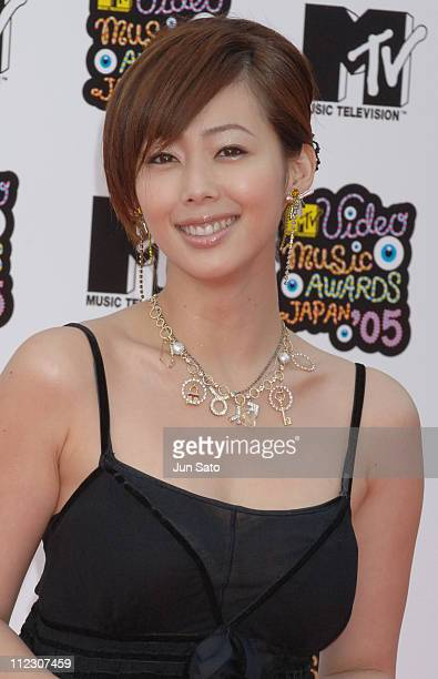 Waka Inoue during MTV Video Music Awards Japan 2005 Outside Arrivals at Tokyo Bay NK Hall in Urayasu Japan