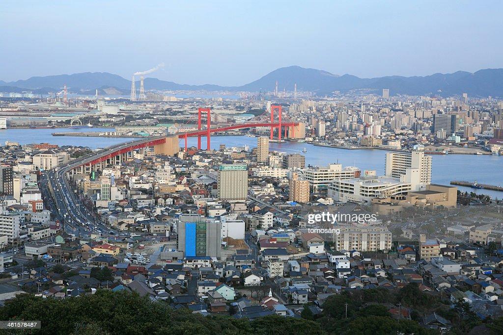Wakamatsu cityscape