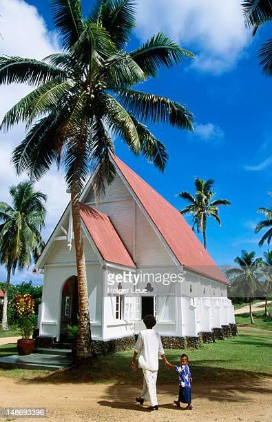 Wakaya village church.