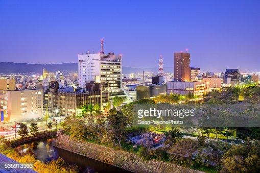 Wakayama ciudad, Japón : Foto de stock