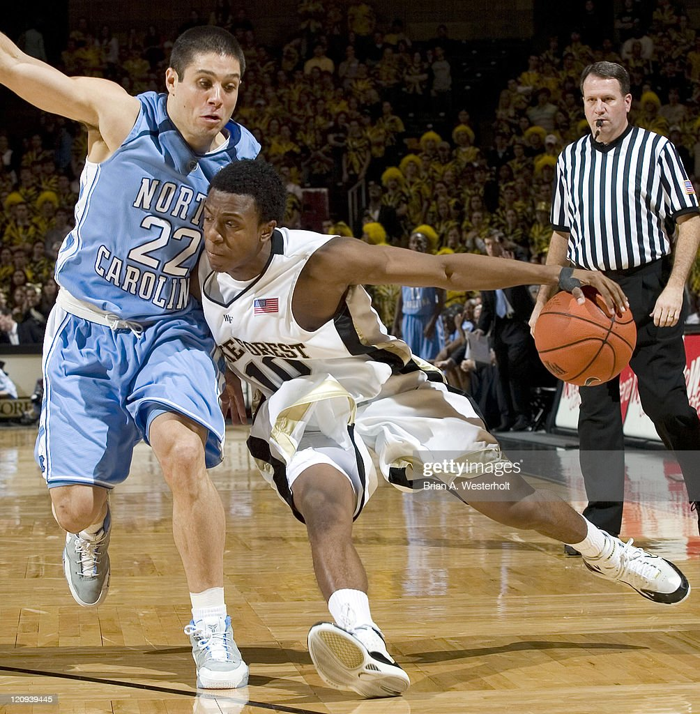 NCAA Men's Basketball - North Carolina vs Wake Forest - January 24, 2007