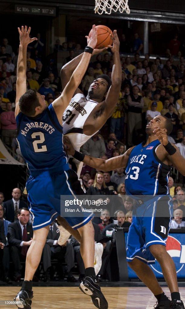 NCAA Men's Basketball - Duke vs Wake Forest - January 8, 2006