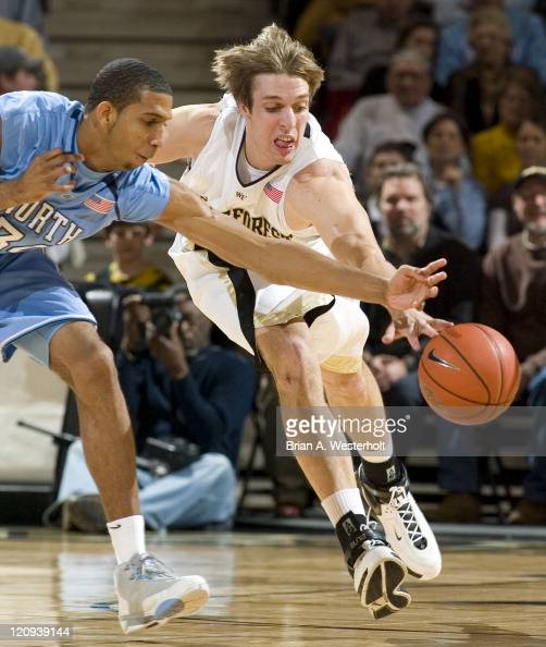 NCAA Men's Basketball - North Carolina vs Wake Forest ...