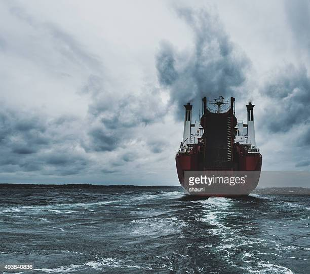 Wake of Container Ship