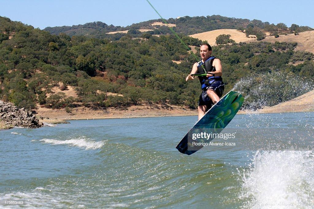 Wakeboard 180 : Stock Photo