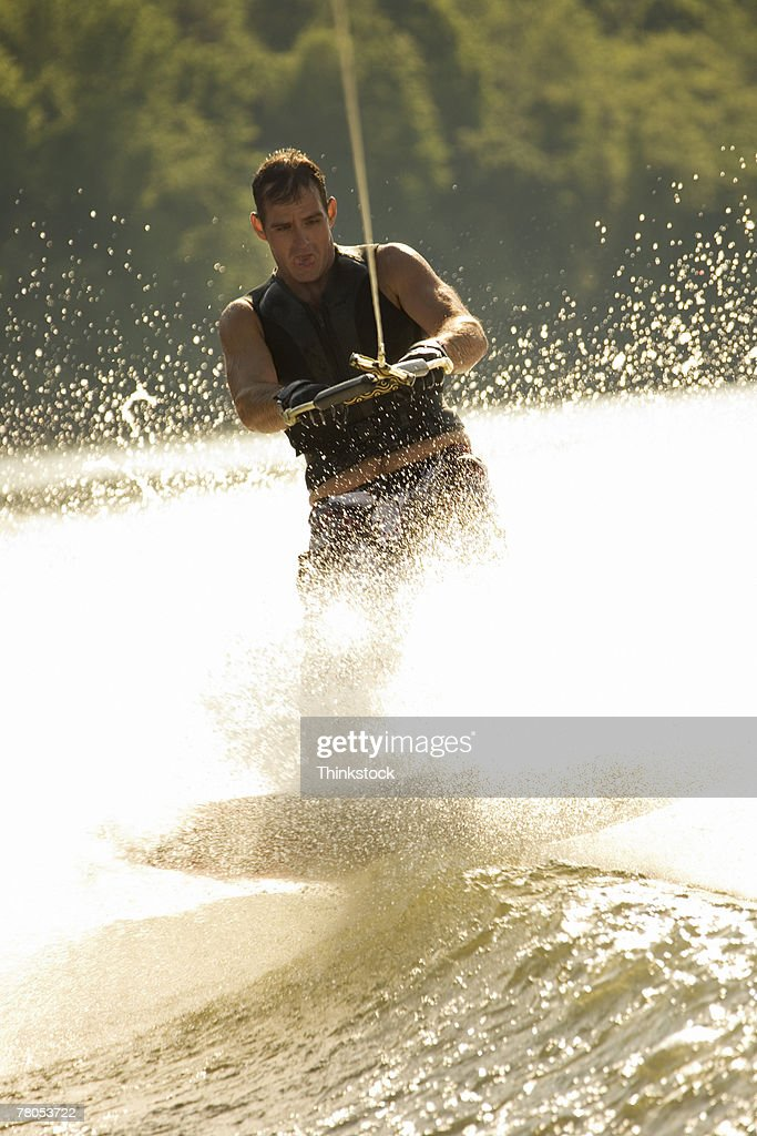 Wakeboarder : Stock Photo