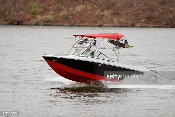 wakeboarding boat