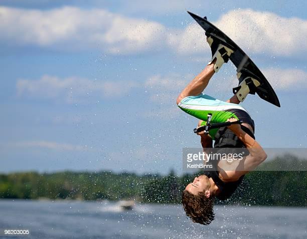 Wakeboarding Flip