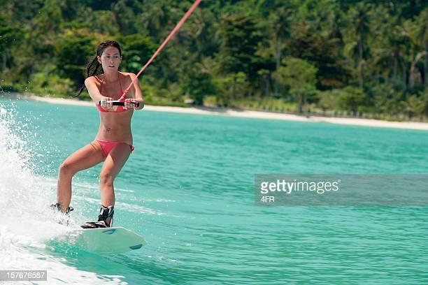 Wakeboarding on tropical Waters (XXXL)