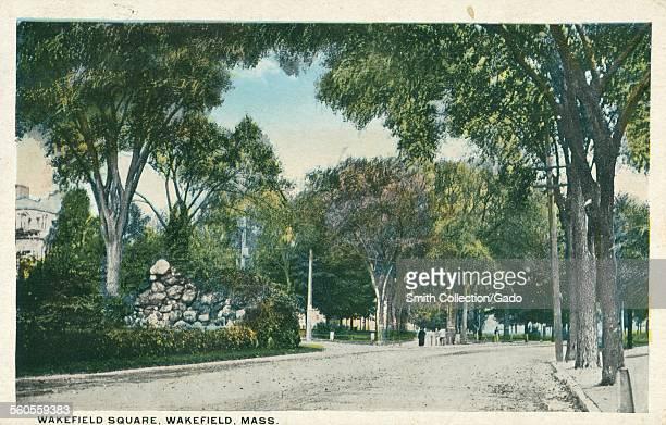 Wakefield Square Park Wakefield Massachusetts 1927