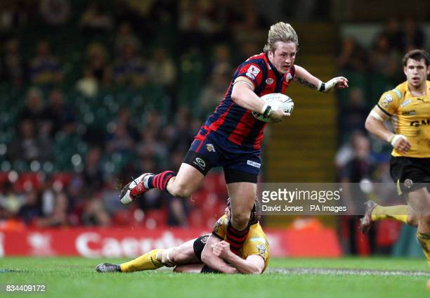 Wakefield Trinity Wildcats' Oliver Wilkes in action during the engage Super League match at the Millennium Stadium Cardiff