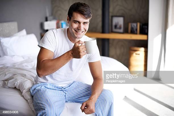 Svegliarsi con alcuni caffeina