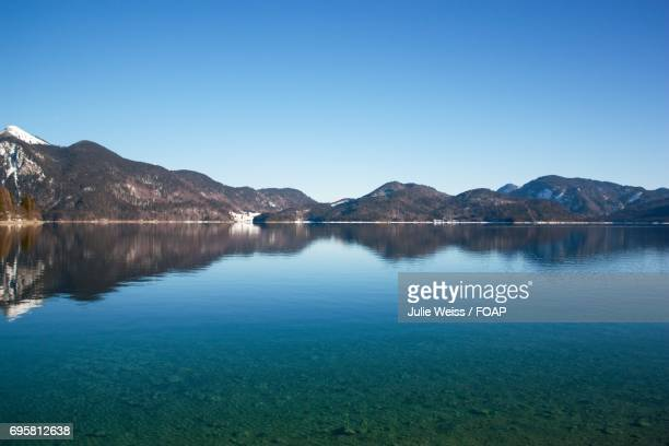 Walchensee lake, Bavaria, Germany