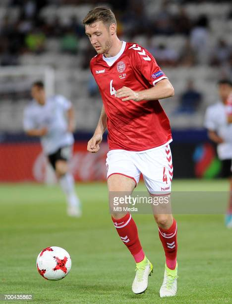 Waldemar Anton during the UEFA European Under21 match between Germany and Denmark at Cracovia Stadium on June 21 2017 in Krakow Poland
