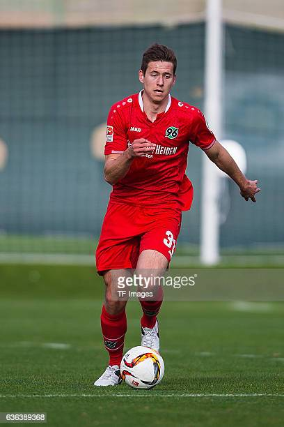 Waldemar Anton of Hannover 96 in action during the Friendly Match between Hannover 96 and Gostaresh Foolad FC at training camp on January 13 2016 in...