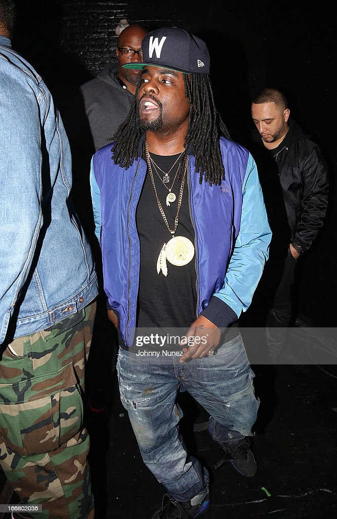 <a gi-track='captionPersonalityLinkClicked' href=/galleries/search?phrase=Wale+-+Rapero&family=editorial&specificpeople=8770277 ng-click='$event.stopPropagation()'>Wale</a> attends the 2nd Annual DJ Prostyle's Birthday Bash at Hammerstein Ballroom on April 16, 2013 in New York City.