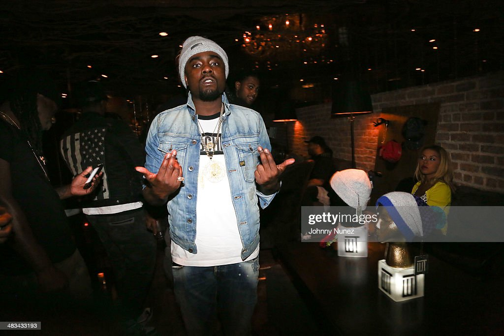 Wale attends Wale's Wrkng Title Collection Event at Manon on April 8 2014 in New York City