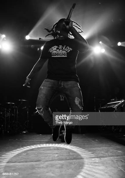 Wale performs at Irving Plaza on May 25 2017 in New York City
