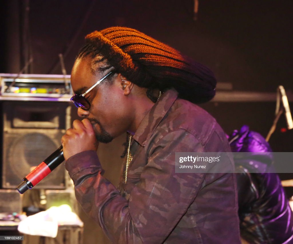 <a gi-track='captionPersonalityLinkClicked' href=/galleries/search?phrase=Wale+-+Rapper&family=editorial&specificpeople=8770277 ng-click='$event.stopPropagation()'>Wale</a> performs at the Bowery Ballroom on January 7, 2013 in New York City.