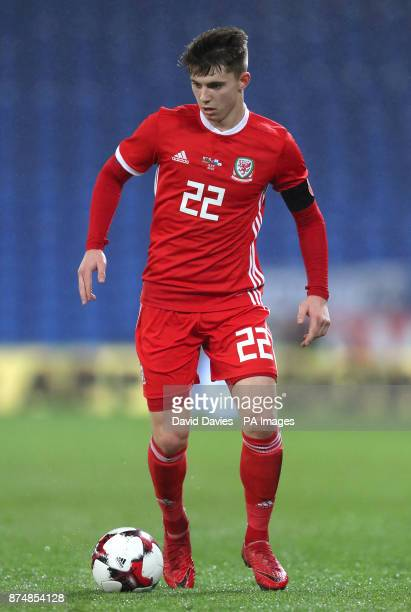 Wales Ben Woodburn during the International Friendly match at the Cardiff City Stadium PRESS ASSOCIATION Photo Picture date Tuesday November 14 2017