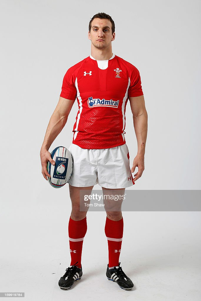 Wales captain Sam Warburton poses during the RBS Six Nations launch at The Hurlingham Club on January 23, 2013 in London, England.