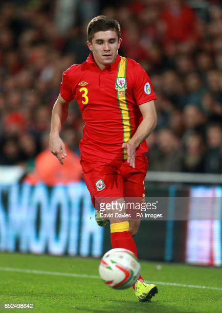 Wales Declan John during the FIFA World Cup Qualifying Group A match Cardiff City Stadium Cardiff