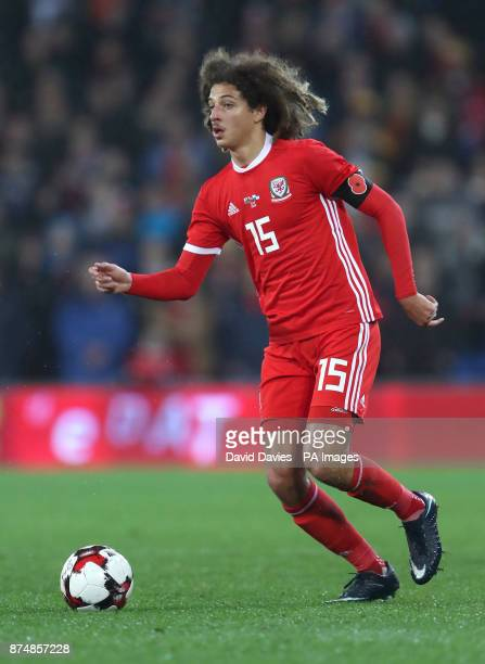 Wales Ethan Ampadu during the International Friendly match at the Cardiff City Stadium PRESS ASSOCIATION Photo Picture date Tuesday November 14 2017