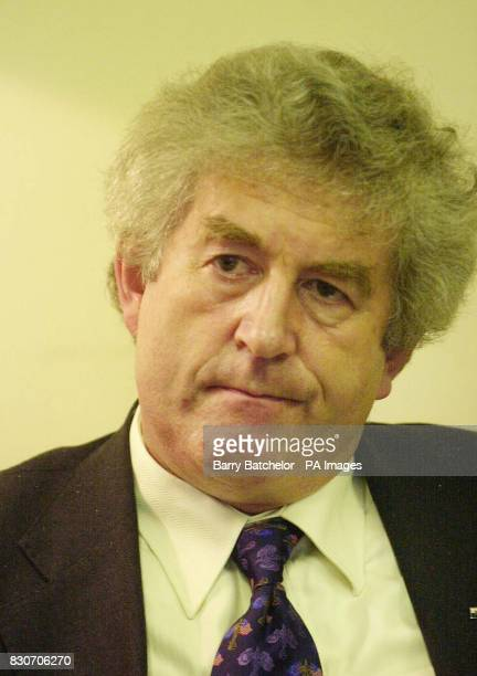 Wales First Minister Rhodri Morgan while offering his personal condolences to a visiting group of Pentagon officials at the National Assembly For...