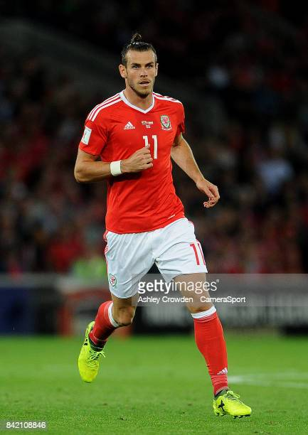 Wales Gareth Bale during the FIFA 2018 World Cup Qualifier between Wales and Austria at Cardiff City Stadium on September 2 2017 in Cardiff Wales