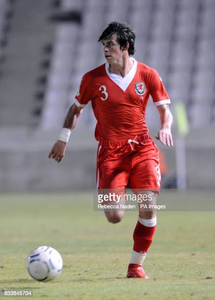 Wales Gareth Bale during the UEFA European Championship Qualifying match at Neo GSP Stadium Nicosia Cyprus Picture date Saturday October 13 2007 See...