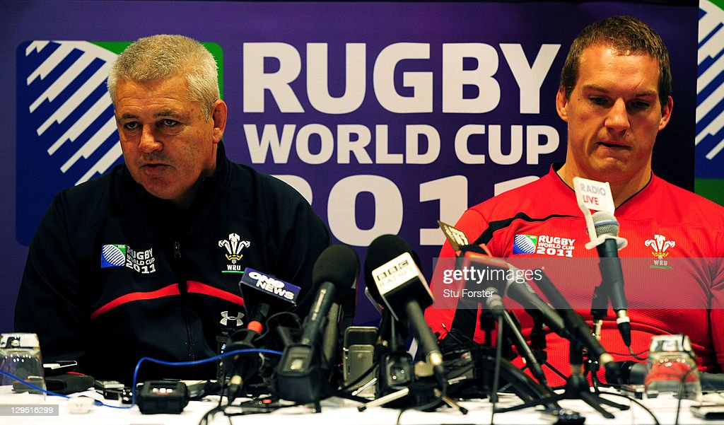 Wales Training Session - IRB RWC 2011